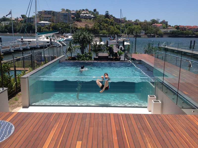 Viewing album swimming pools for Pool design brisbane