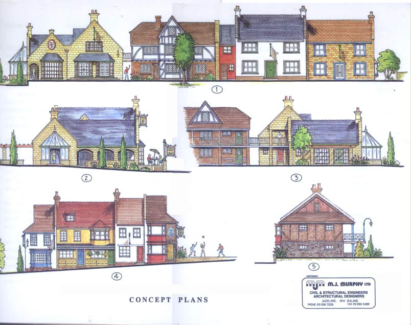 Example Of Architectural Concept Plans By Mike Murphy